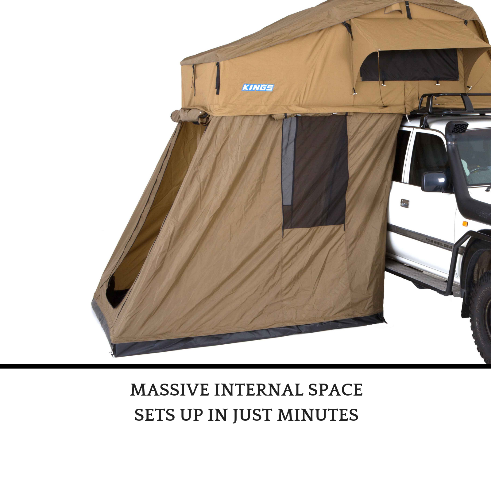 Adventure Kings Roof Top Tent Weight details about best 4 person adventure kings brand annex extension for  rooftop camper car tent