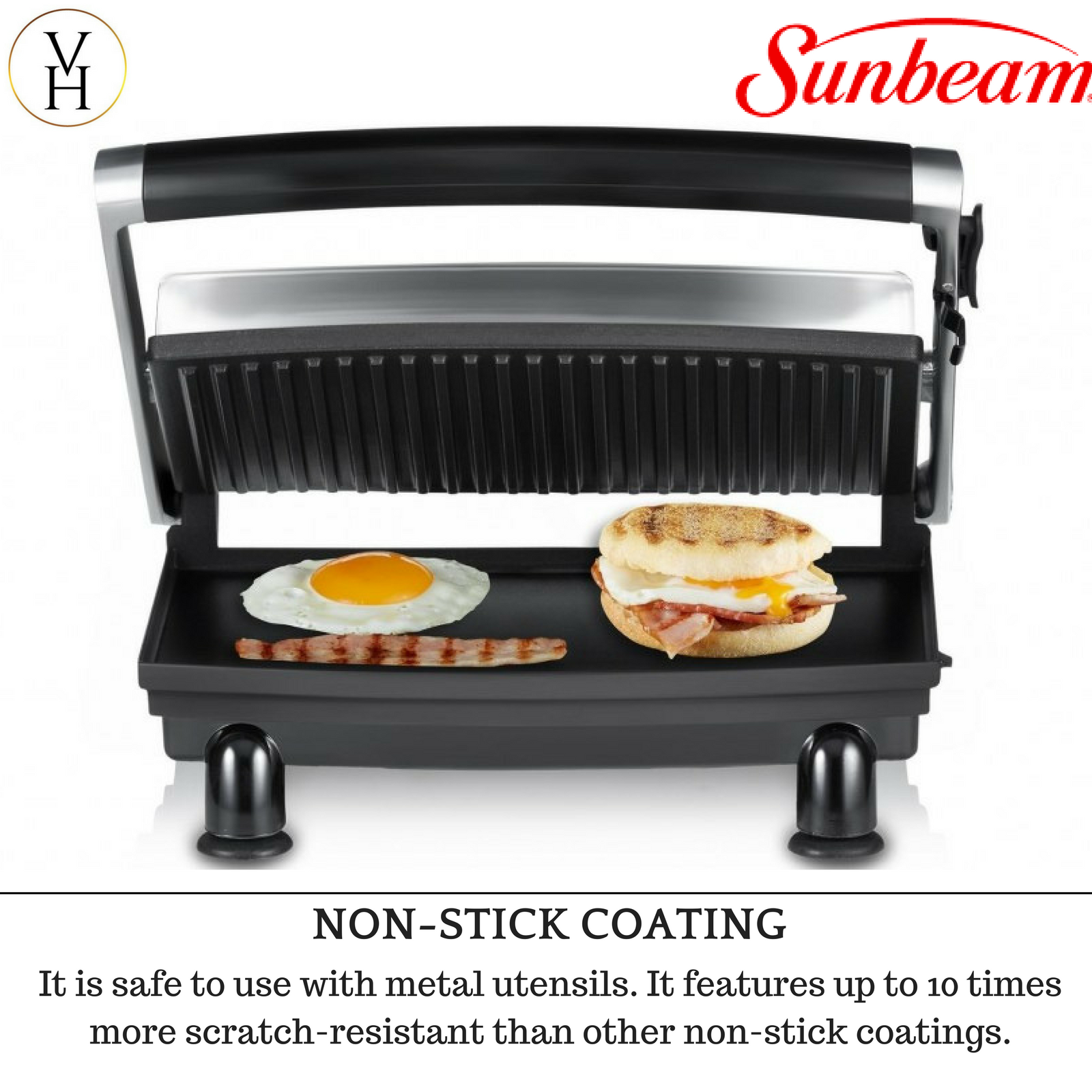 Sunbeam Grilled Sandwich Maker Toasted Cheese Toastie Toaster New Press Grill 9311445008119 Ebay