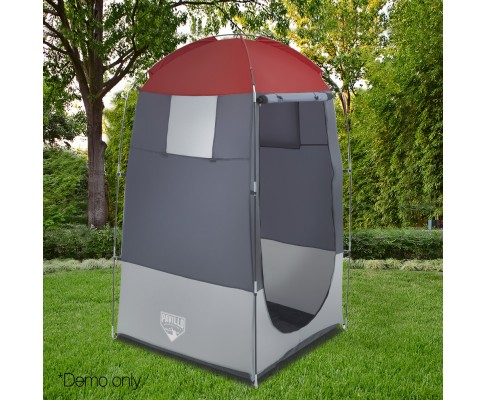 Image 8 & Bestway Tent with Shower Cubicle Changing Room Toilet Camping ...